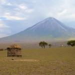 Ол Дойнио Ленгаи - самый холодный вулкан в мире, Танзания. Африка