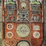 Астрономические часы Оломуца в 1846г.