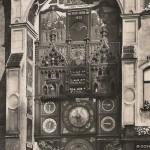 Астрономические часы Оломуца в 1926г.