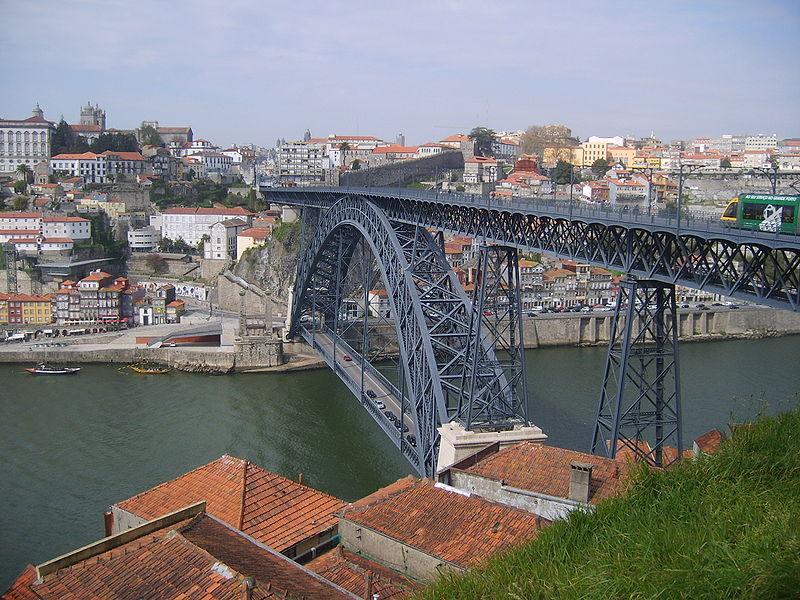Мост дона Луиша. Португалия