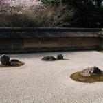 Сад камней и храм Рёандзи, Киото. Япония