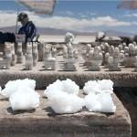 Фигурки из соли в Салинас-Грандес. Аргентина