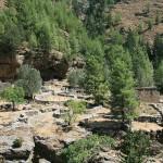Руины построек деревни Самарья