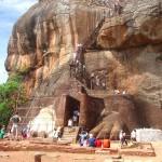 Начало подъема на Сигирию. Шри-Ланка
