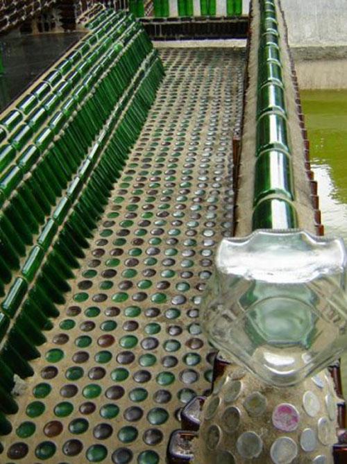 Храм миллиона бутылок. Таиланд