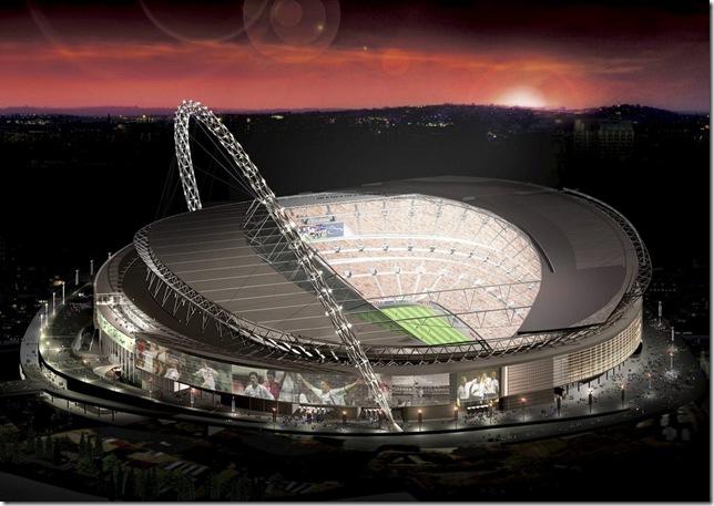 Факт о стадионе Уэмбли