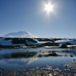 Вулкан Эребус. Антарктида