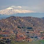 Вулкан Этна, Сицилия. Италия