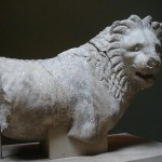 статуя льва в Британском музее