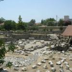 Развалины Мавзолея в Галикарнасе. Турция