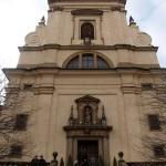 Костел Девы Марии Торжествующей. Прага