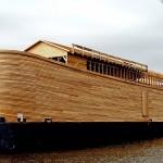 Полноразмерная копия Ноева ковчега в Нидерландах