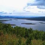 Озеро Джека Лондона, Магаданская область. Россия