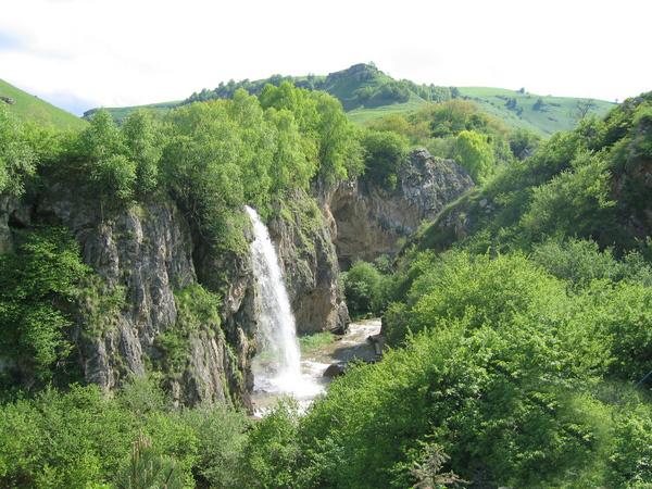 Фотографии медовых водопадов в