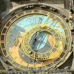 Астрономические часы в Праге. Чехия
