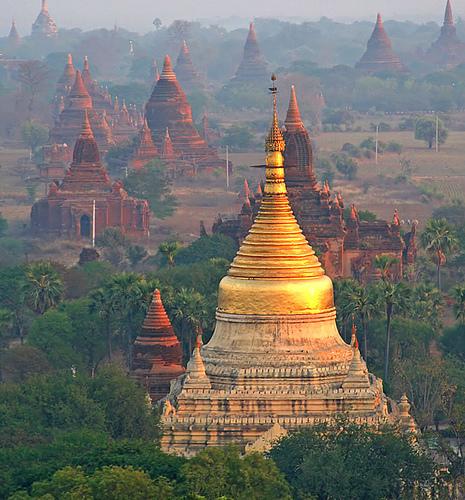 Руины Пагана. Мьянма