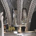 Скелет бар в Швейцарии