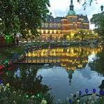Парк развлечений Тиволи в Копенгагене. Дания