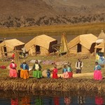 Плавучие острова племени Урос. Перу