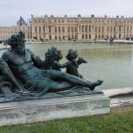 Вид на Версальский дворец из парка