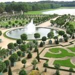 Партер перед оранжереей в Версале