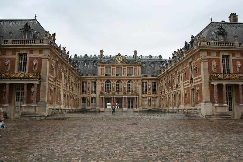 Мраморный двор Версаля